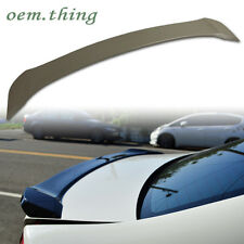 Unpainted For HONDA CIVIC 9 Saloon Rear Trunk Spoiler ABS OE 2012-2015 CIVIC9