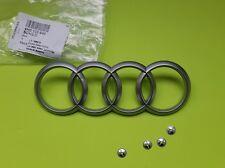Genuine Audi A4 A5 A6 A8 Q5 Q7 S4 RS4 Engine Cover Emblem Logo 4H0103940 165x57