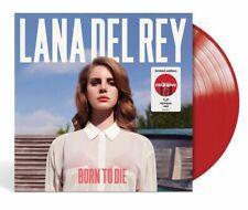 Lana Del Rey Born to Die Exclusive Red Colored Vinyl LP