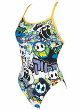 ARENA - W MANGA ONE PIECE - WHITE/MULTI SIZE 22 (2A666-10) - CLEARANCE