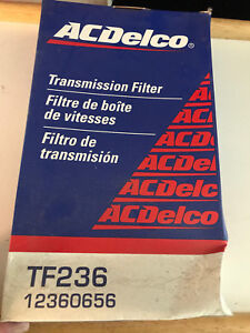 ACDelco TF236 Auto Transmission Filter Kit Buick, Cadillac, Oldsmobile, More