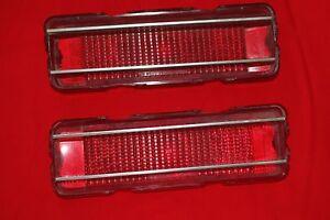 1967 Skylark Tail Light Lenses