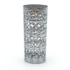 New Metal Lighter Cover Holder Silver Color Hollow Design For BIC Lighter Case