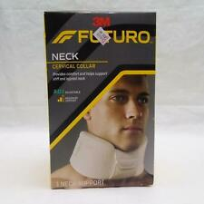3M FUTURO ADJUSTABLE NECK CERVICAL COLLAR MODERATE SUPPORT BRACE FREE SHIP TE
