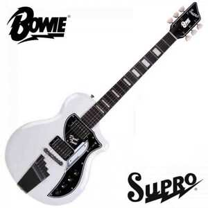 Supro David Bowie 1961 Dual Tone Limited Edition Electric Guitar With Gig Bag