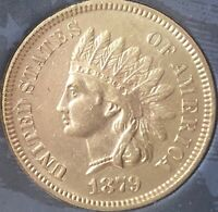 1879 Indian Head Penny SOME DIAMONDS,  ***BEAUTIFUL COIN***Cleaned