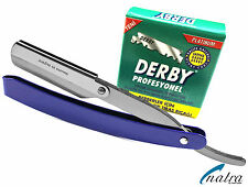 Rasiermesser inkl.100 Derby Rasierklingen Rasierer Shave Razor Rasur Jilet blade