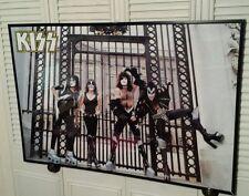 NEW KISS POSTER - LONDON BUCKINGHAM PALACE GATES POSTER 24 x 36 NOT AUCOIN 1976