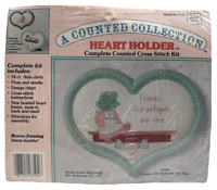 1980s Vntg NIP Another Look Counted Cross Stitch Kit Friends Like Antiques 8574