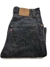 Vintage Levi's 901 Women's Jeans Size 30 x 30 High Rise Mom Straight Button Fly