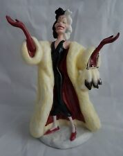Royal Doulton Cruela de Vil DM1-en Caja-Disney 101 Dalmations-Perfecto
