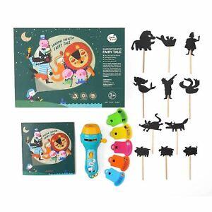 Shadow Puppet DIY Theatre Show Fairytale Flashlight Projector Family Fun Kid Toy