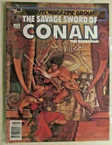 MARVEL -THE SAVAGE SWORD OF CONAN COMIC MAGAZINE  ISSUE #88 -1983