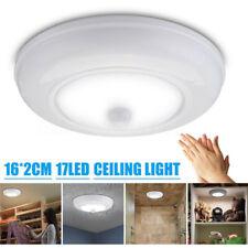 Ultra Bright Motion Sensor LED Ceiling Night Light Cabinet Lamp Wireless Battery