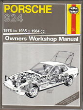 buy porsche 924 car service repair manuals ebay rh ebay co uk haynes workshop manual porsche 924 workshop manual porsche 924