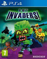 8-Bit Invaders Playstation 4 PS4 **FREE UK POSTAGE!!**