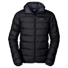 Jack Wolfskin Mens Helium Insulated Down Jacket 2017 Windproof Lightweight Black XLarge