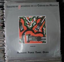 TERCETO DE GUITARRAS DE LA CIUDAD DE MEXICO MOCAYO, PONCE, OLIVAS, TAMES
