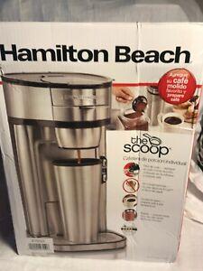 Hamilton Beach The Scoop Single Serve Coffee Maker - Stainless Steel (49981)