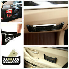 Portable Car Storage Resilient Net String Bag Organizer Cell Phone GPS Sundries