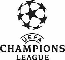CHAMPION LEAGUE FOOTBALL BADGE  WALL ART VINYL STICKER