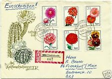 EAST GERMANY, (DDR), CIRCULATED COVER TO FRANKFURT AM MAIN, # 69