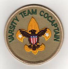 """Varsity Team Cocaptain Position Patch (2002-09), """"Scout Stuff"""" Backing, Mint!"""