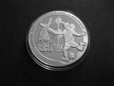 "Medaille  Fussball EM 2000  ""Niederlande - Belgien""  PP  in Münzkapsel"