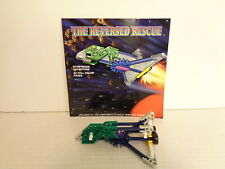 1998 Knex Build N Play Adventures The Reversed Rescue Building Set Complete