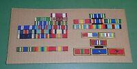 Nice Lot of US Military Issue Ribbons & Ribbon Bars Individual & Unit Awards