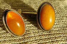 Amber Stone Sterling Silver Jewellery for Men