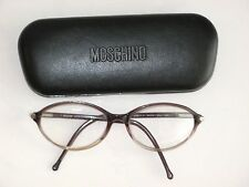 MOSCHINO EYEGLASS FRAMES M3617-V 54-16 304 135 MADE IN ITALY LAVENDER CLEAR