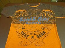 South Bay Surf Gear T Shirt Youth XL Graphic Tee 100% Cotton Short Sleeve   T9
