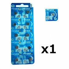 1 x Renata 377 1.55v Watch Cell Battery SR626SW Mercury Free