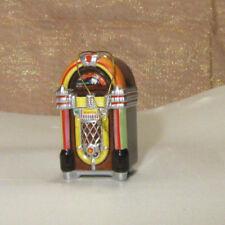 JUKEBOX ORNAMENT Wurlitzer 1015 Bubbler Retro Hanging Figurine Enesco 2000 NOS