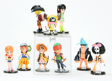One Piece Movie Strong World Mini Figures Luffy Nami Sanji Choppe Zoro Toys New