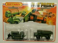 Matchbox Superfast TP-16 Miitary Dump Truck & Bulldozer 16A&28A MIB SEALED RARE