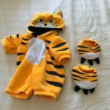 Design a bear outfit tiger onepiece and slippers