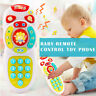 Baby TV Remote Control Mobile Phone Toy Kids Educational Music Learning Toy Gift