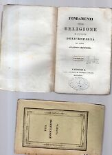 fondamenti della religione e fonti dell empieta'-p.antonino valsecchi -vol.quart