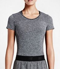 Nike Golf Women´s Dri Fit Knit Top Dark Grey/Black Size M