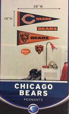 NFL Fathead Jr Chicago Bears Pennants New