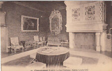CHENONCEAUX 10 château salon Louis XIII