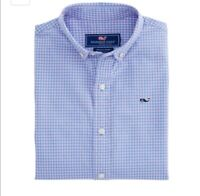 Vineyard Vines Boys Woven Button Down Shirt Size 3T