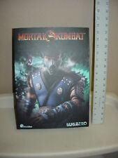 Empty Box of World Box Brand Mortal Kombat Sub Zero 1/6 Figure  Free US Shipping