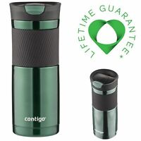 Travel Coffee Mug Stainless Steel Leak Proof Vacuum Insulated SnapSeal Byron Lid