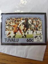1986 World Cup Stamp: Tuvalu - Germany v Holland 1974 Final