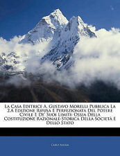 La Casa Editrice A. Gustavo Morelli Pubblica La 2.A Edizione Rifusa E Perfeziona