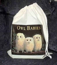 Owl Babies Empty Story Sack & Teaching Resources CD!