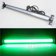 80 LED Green Car Strobe Warning Moving Light Bar Flash Signal Emergency